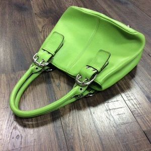 Lime Green Mini Tignanello Handbag